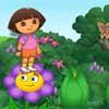 Dora Explorando Jardín de Isa