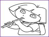 Colorear Dibujos Dora La Exploradora