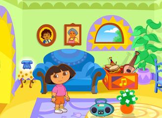 Juego Aventuras de la Casa de Dora  Juegos Dora