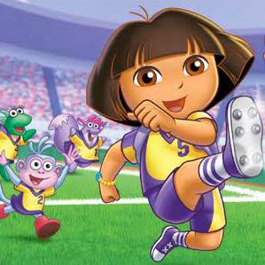 Juego Dora Espectáculo de fútbol