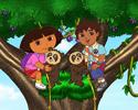 Diego y Dora en la jungla