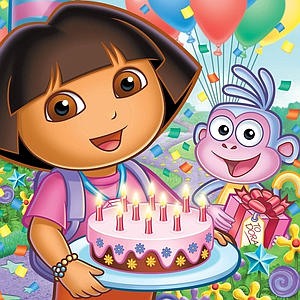Juego Dora Cumpleaños