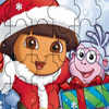 Dora Rompecabezas Navidad