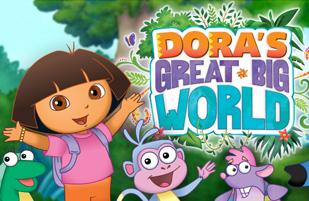 juego Gran Mundo Dora Exploradora | Juegos Dora