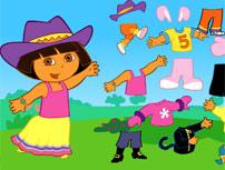 Disfrazar a Dora la Exploradora
