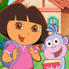 Puzzle Dora y Botas en el Colegio