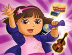 Juego Dora canta Rock con Amigos