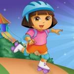 Aventura de patinar de Dora la Exploradora